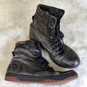 Diesel Men's Basket Butch Casual Ankle Boots - 10